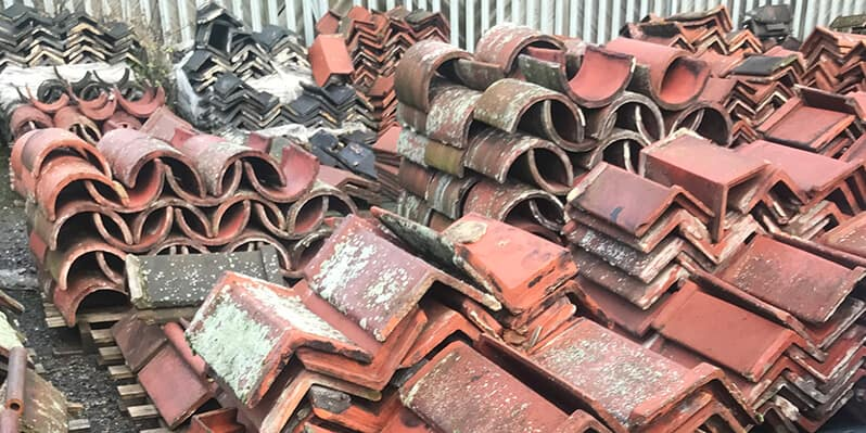 Reclaimed Ridge Tiles Leeds Roofing Supplies