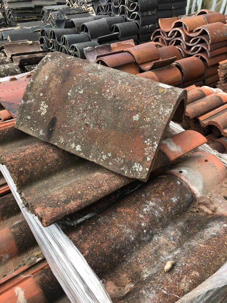 reclaimed hand made ridge - lofthouse roofing supplies