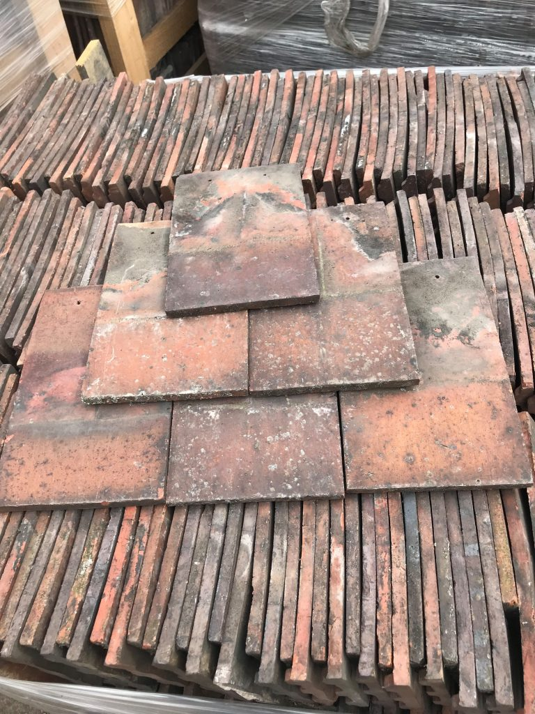 reclaimed machine made rosemary roof tiles - reclaimed lofthouse roofing supplies