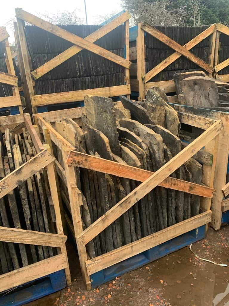 Yorkshire stone grey slates - reclaimed lofthouse roofing supplies