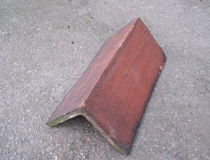 Reclaimed Red Butt Ridge - Lofthouse Roofing Supplies