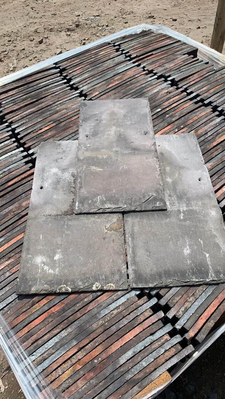 Reclaimed Welsh Slate Grey Purple For Sale